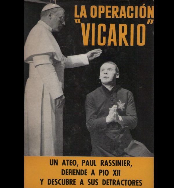 RASSINIER Paul – La Operacion Vicario