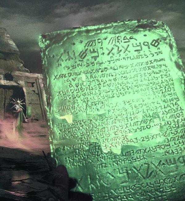 Trismegisto, Hermes – La Tabla Esmeralda