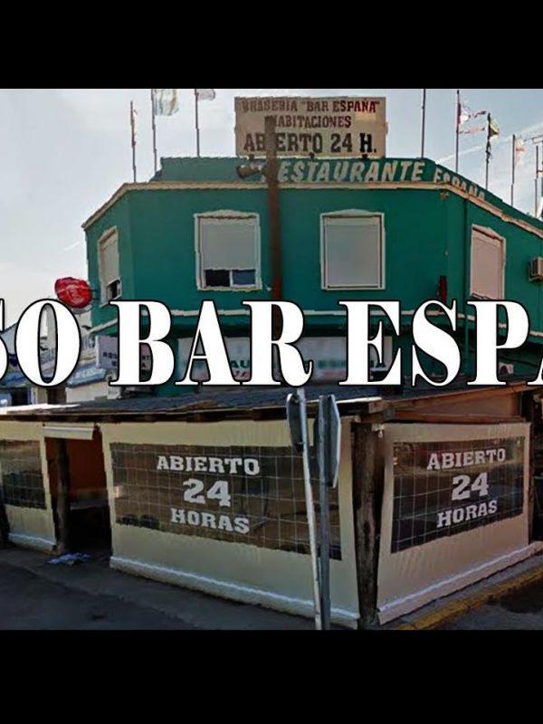 La mierda que hay detrás del Bar España
